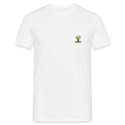 Treeburgers logo with text - Men's T-Shirt