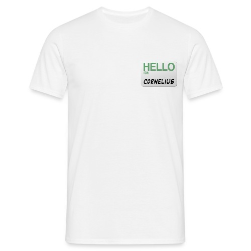 hello im cornelius - Men's T-Shirt