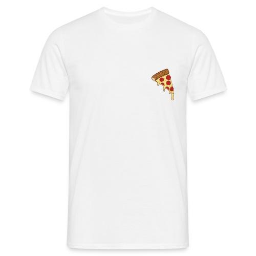 Pepperoni pizza - Mannen T-shirt