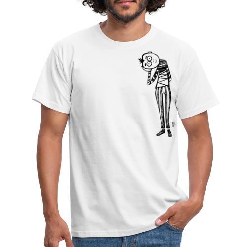 Punto di vista in bianco e nero - Maglietta da uomo