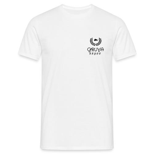 Gruva Brygg 1 - T-skjorte for menn