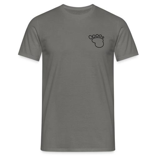 Babyfuss Rand - Männer T-Shirt