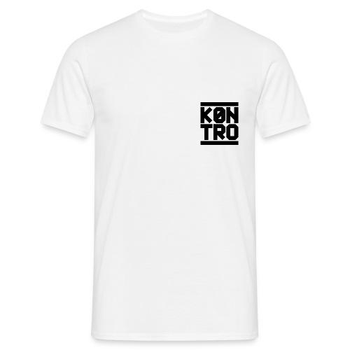 K0NTRO Black Small - Miesten t-paita