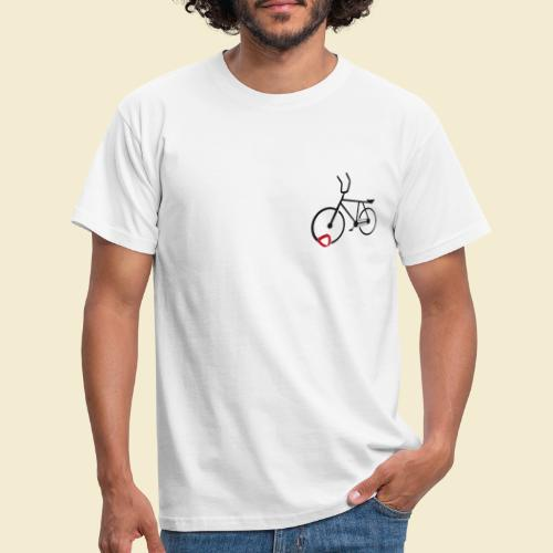 Radball | Cycle Ball Polo black - Männer T-Shirt