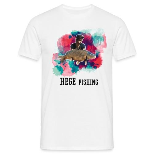 Hege fishing fertig - Männer T-Shirt