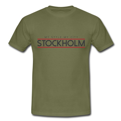 MY STYLE MY CITY STOCKHOLM - Men's T-Shirt