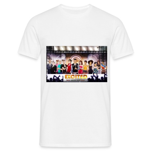 excited cover - Men's T-Shirt