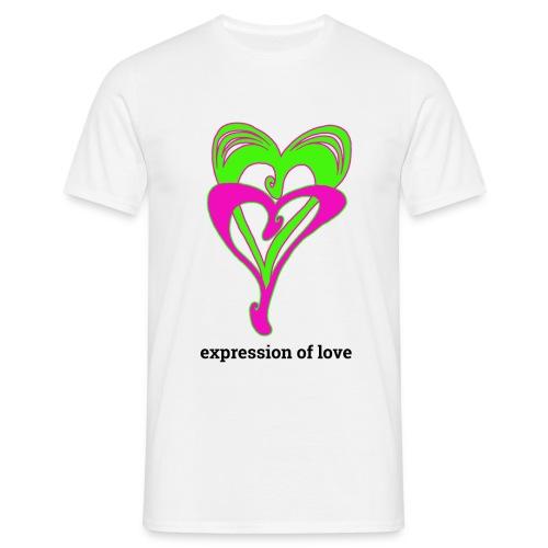 Liebe, Affirmation - Männer T-Shirt