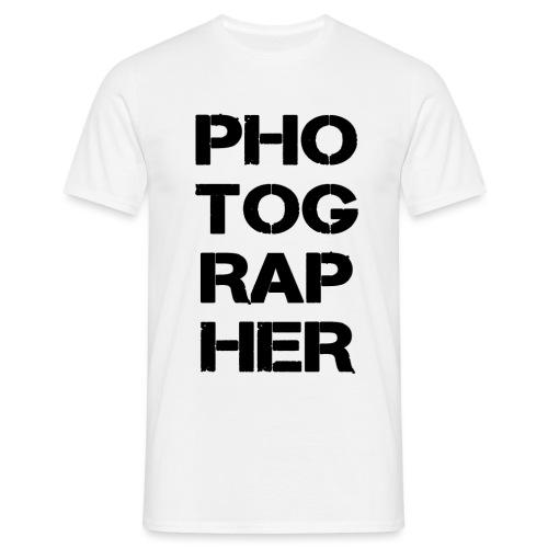 PHOTOGRAPHER - T-shirt Homme
