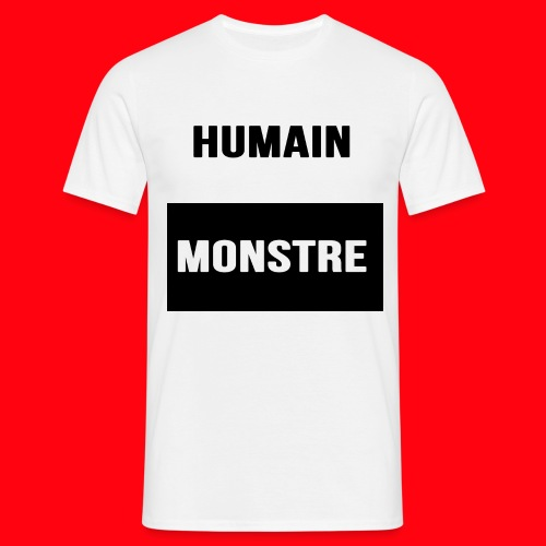 Humain & Monstre - T-shirt Homme