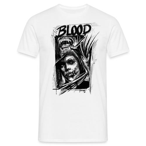 BLOOD - Männer T-Shirt