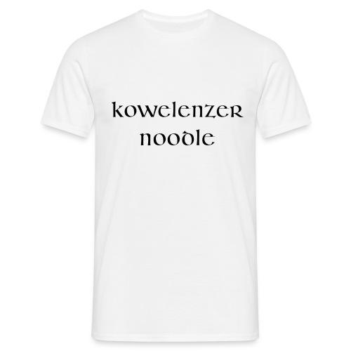 Kowelenzer Noodle - Männer T-Shirt