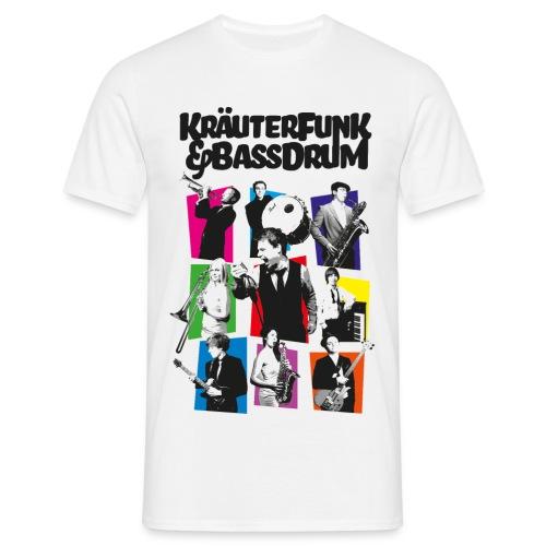 Kräuter-Band - Männer T-Shirt