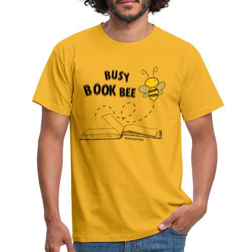 Bees5-1Bienen und Bücher | save the bees - Men's T-Shirt