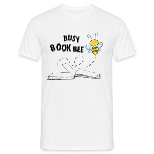 Bees5-2 Bienen und Bücher | save the bees - Men's T-Shirt