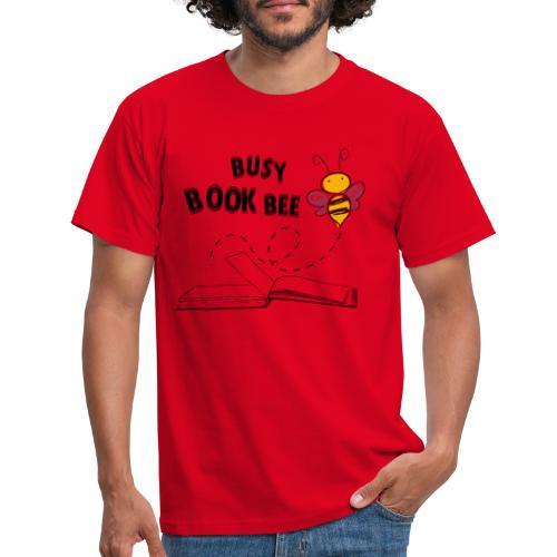 Bees5-2 Bienen und Bücher   save the bees - Men's T-Shirt