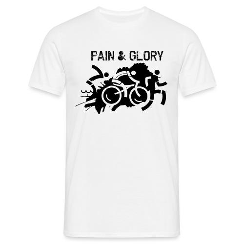 Triathlon Pain Glory - Männer T-Shirt