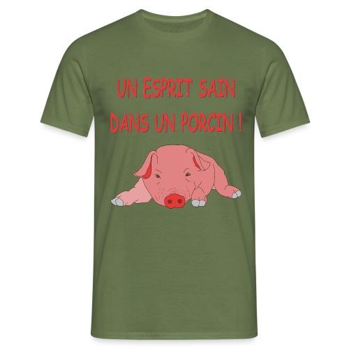 Porcitive Attitude - T-shirt Homme