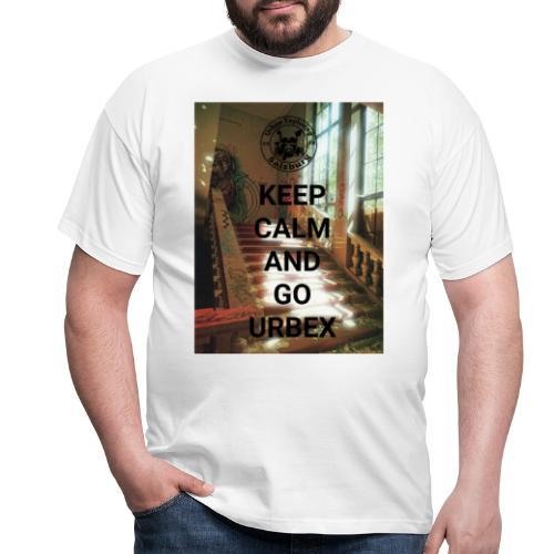 URBEX Salzburg KEEP Calm - Männer T-Shirt