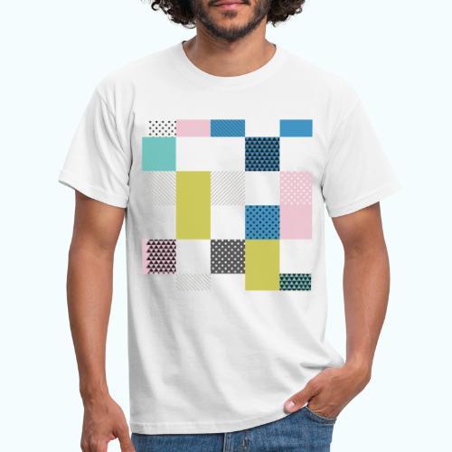 Abstract art squares - Men's T-Shirt