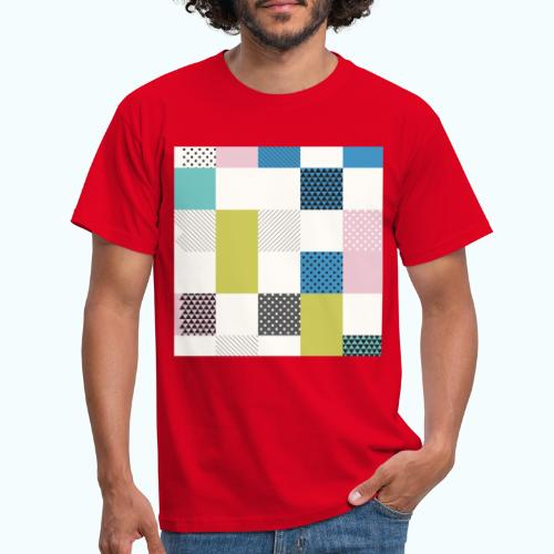 Abstract art squares - Men's T-Shirt