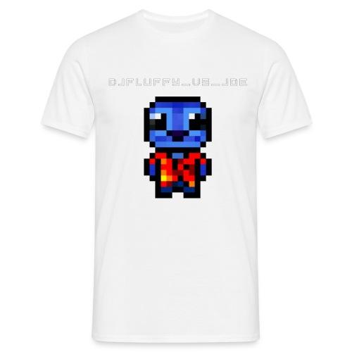 DJFLuFFy vs joe minecraft avatar - Mannen T-shirt