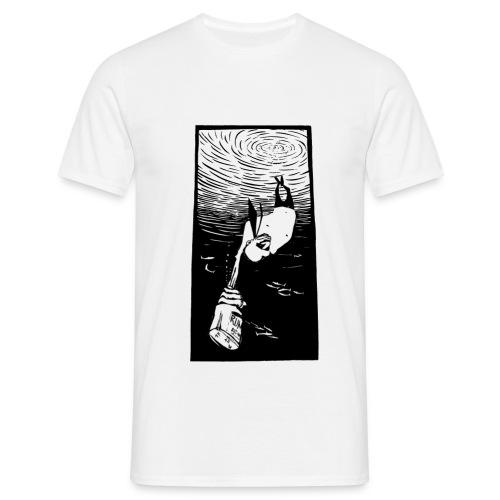 Besuch bei den Fischen - Männer T-Shirt