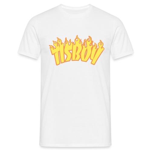 TISBOY FLAME - Mannen T-shirt