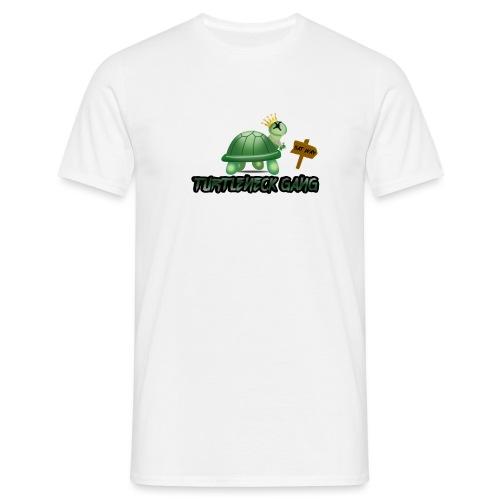 Turtle Neck Design 1 - Men's T-Shirt