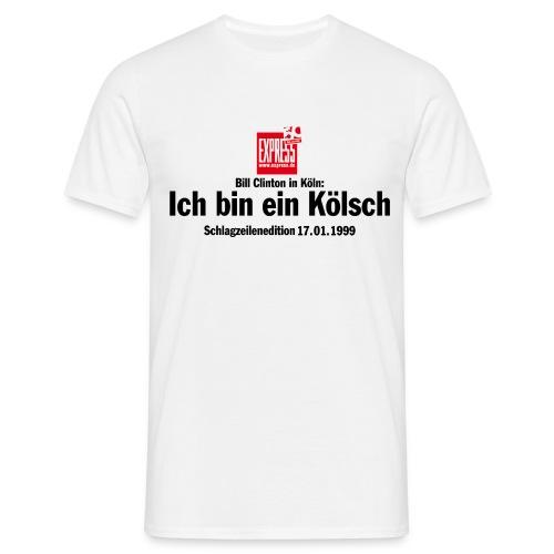 Ich bin ein Kölsch - Männer T-Shirt