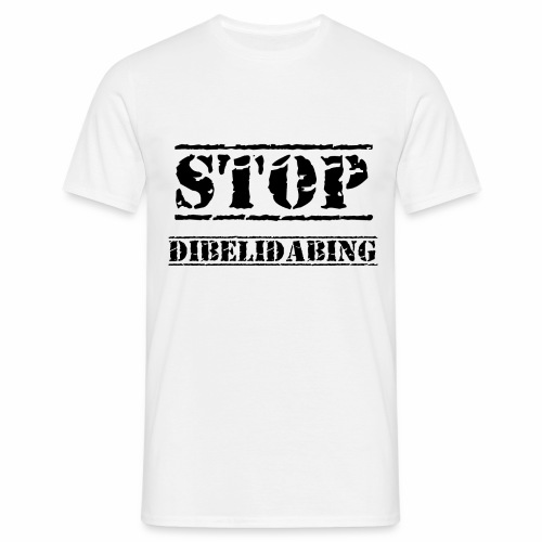 STOP Dibelidabing (Noir) - T-shirt Homme