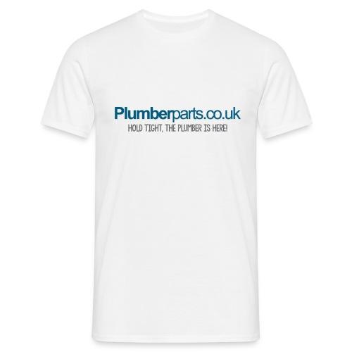 PP4klogoPLUMBERHERE - Men's T-Shirt