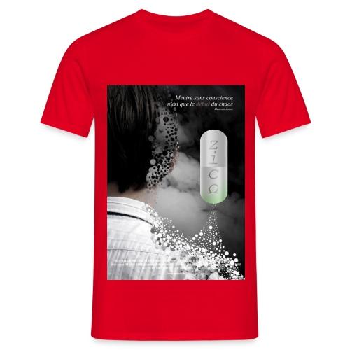 affichezico - T-shirt Homme
