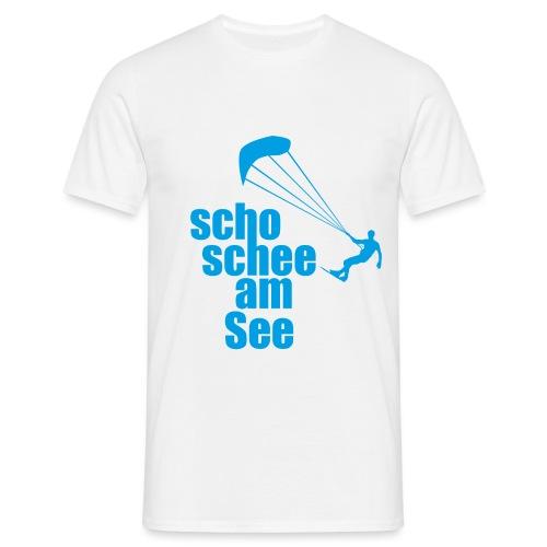 scho schee am See Surfer 01 kite surfer - Männer T-Shirt