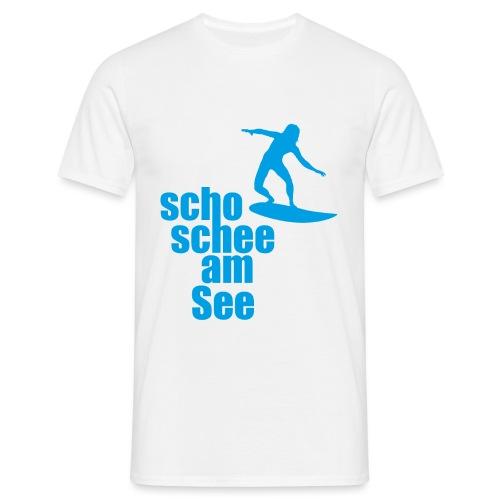 scho schee am See Surfer 04 - Männer T-Shirt