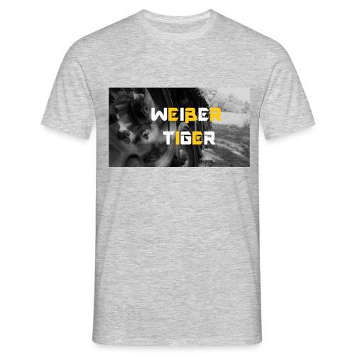 WEIßER TIGER jpg - Männer T-Shirt