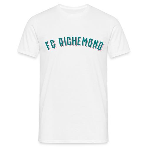 fcrichemond-logo-texte-cu - T-shirt Homme