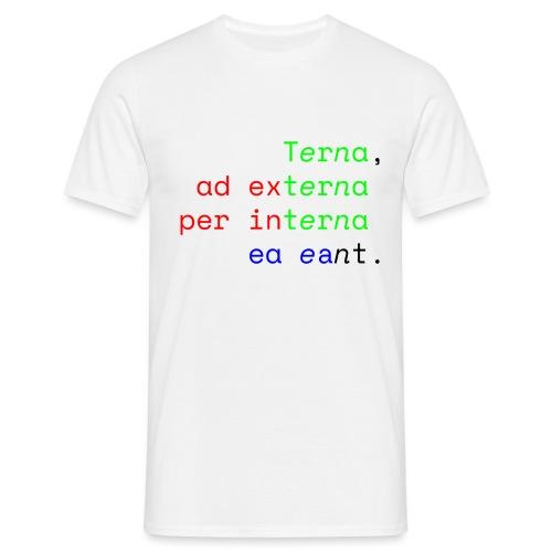 Terna Alba - Maglietta da uomo