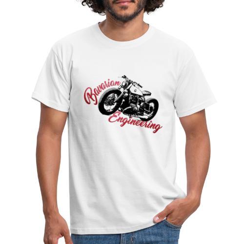 Bavarian Engineering Motorcycle - Männer T-Shirt