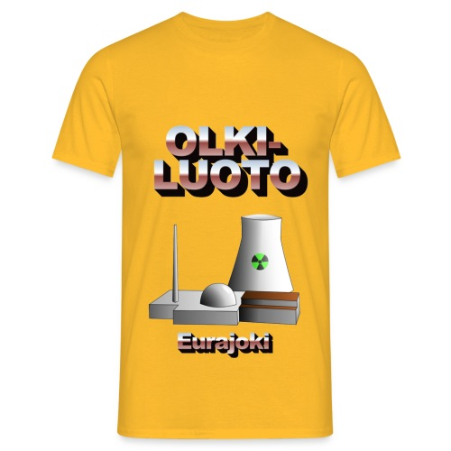 Eurajoki2 png - Men's T-Shirt