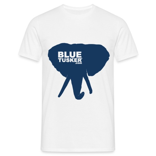 BlueTusker Blue Head - Männer T-Shirt