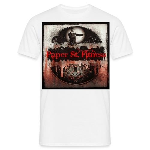 Paper St. Fitness Hoodie - Men's T-Shirt