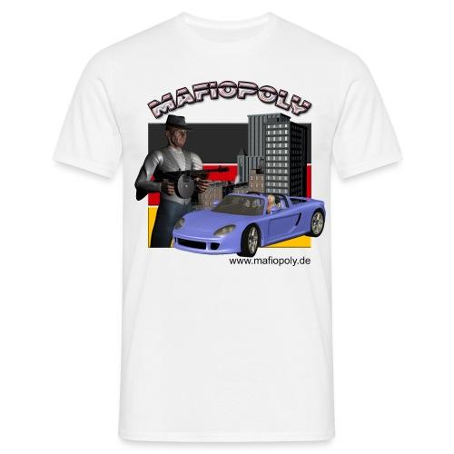 Shirt-Mafiopoly weiß 2 - Männer T-Shirt