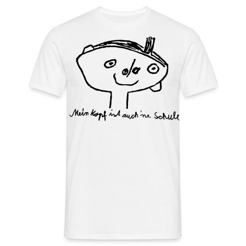 Kopfschule - Männer T-Shirt