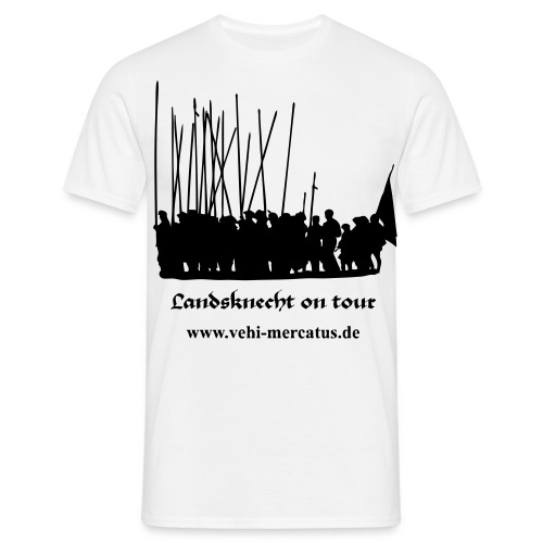 landsknecht on tour - Männer T-Shirt
