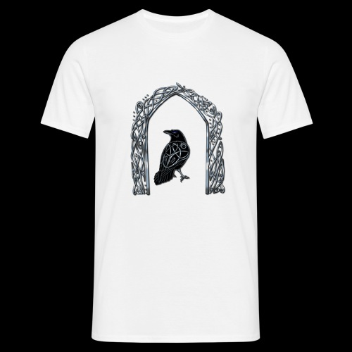 Celtic Raven - Men's T-Shirt