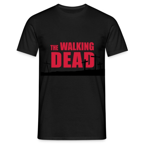 walkingdead cruces - Camiseta hombre