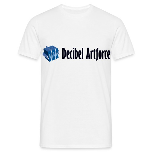 Decibel Artforce Logo (transparent) - Männer T-Shirt