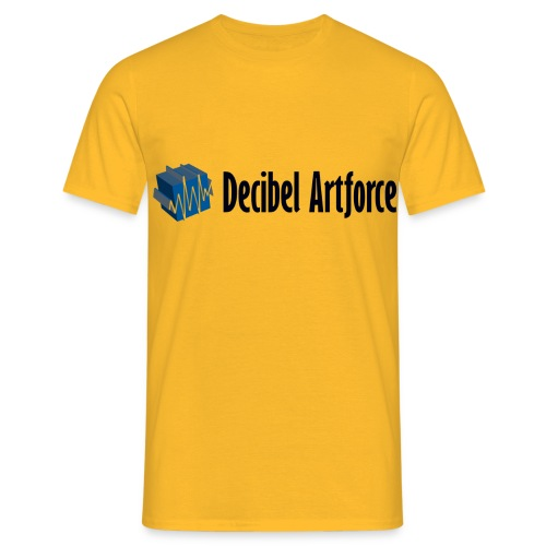 Decibel Artforce Logo (transparent) - Männer T-Shirt