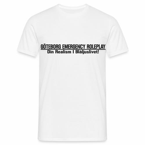 GER || Din Realism I Blå ljuslivet - T-shirt herr